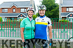 At the Na Gaeil Cycle on Saturday were Maura and Pat Sullivan