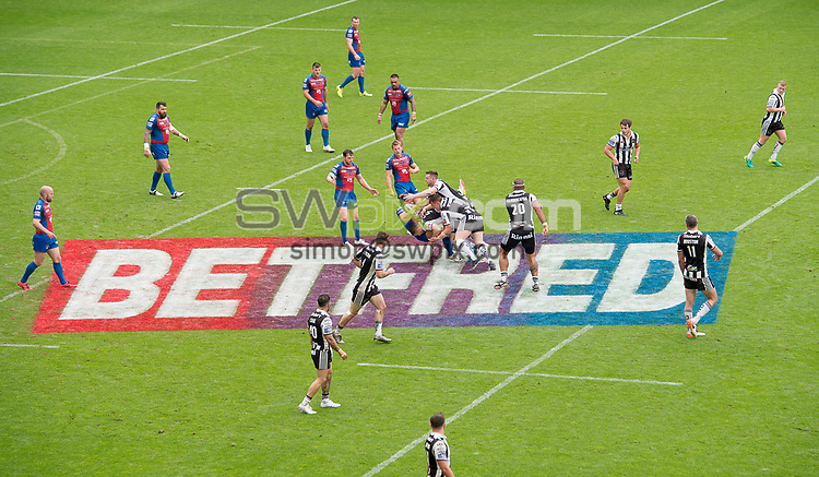 Picture by Allan McKenzie/SWpix.com - 20/05/2017 - Rugby League - Dacia Magic Weekend - St James' Park, Newcastle, England - The brief, Betfred, branding.
