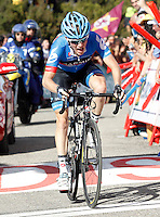 Andrew Talansky during the stage of La Vuelta 2012 between Palas de Rei and Puerto de Ancares.September 1,2012. (ALTERPHOTOS/Acero) /Nortephoto.com<br /> <br /> **CREDITO*OBLIGATORIO** <br /> *No*Venta*A*Terceros*<br /> *No*Sale*So*third*<br /> *** No*Se*Permite*Hacer*Archivo**<br /> *No*Sale*So*third*