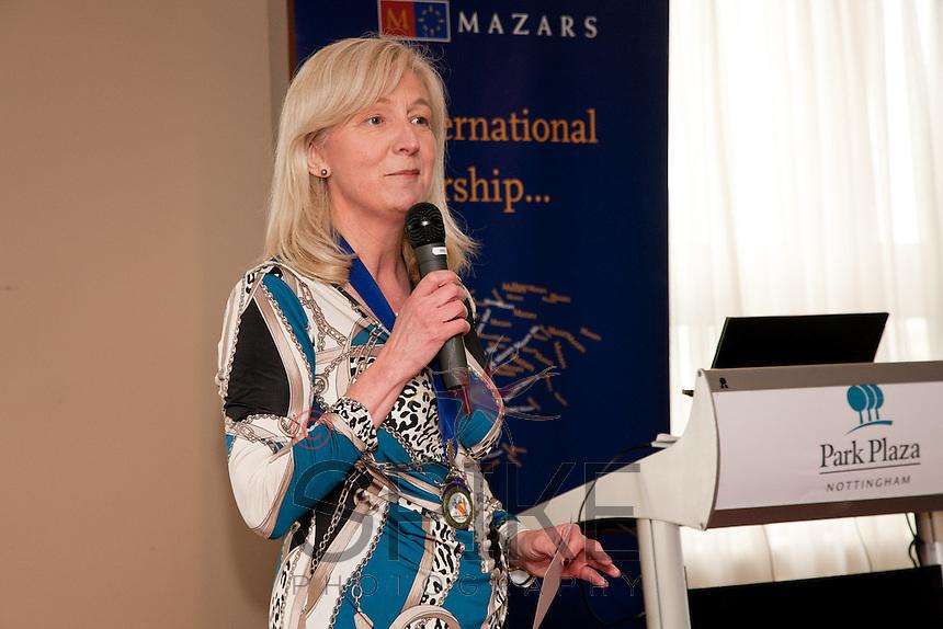 Club President Dianne Allen
