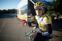 Nick van der Lijke (NLD/LottoJumbo)<br /> <br /> Team Lotto Jumbo winter training camp<br /> <br /> January 2015, Mojácar, Spain