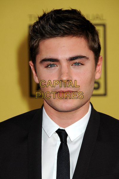 ZAC EFRON .15th Annual Critics' Choice Movie Awards - Arrivals held at the Hollywood Palladium, Hollywood, California, USA, 15th January 2010..portrait headshot black tie white shirt .CAP/ADM/BP.©Byron Purvis/Admedia/Capital Pictures