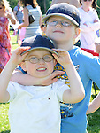 Liam and Dom Riley pictured at Tullyallen Sports Day. Photo:Colin Bell/pressphotos.ie