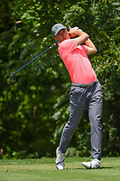 Jordan Spieth (USA) watches his tee shot on 6 during round 2 of the 2019 Charles Schwab Challenge, Colonial Country Club, Ft. Worth, Texas,  USA. 5/24/2019.<br /> Picture: Golffile   Ken Murray<br /> <br /> All photo usage must carry mandatory copyright credit (© Golffile   Ken Murray)
