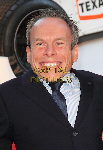 Warwick Davis   <br /> The World Premiere of 'Rush' at the Odeon Leicester Square, London, England.<br /> September 2nd, 2013<br /> headshot portrait smiling black blue suit  <br /> CAP/ROS<br /> &copy;Steve Ross/Capital Pictures