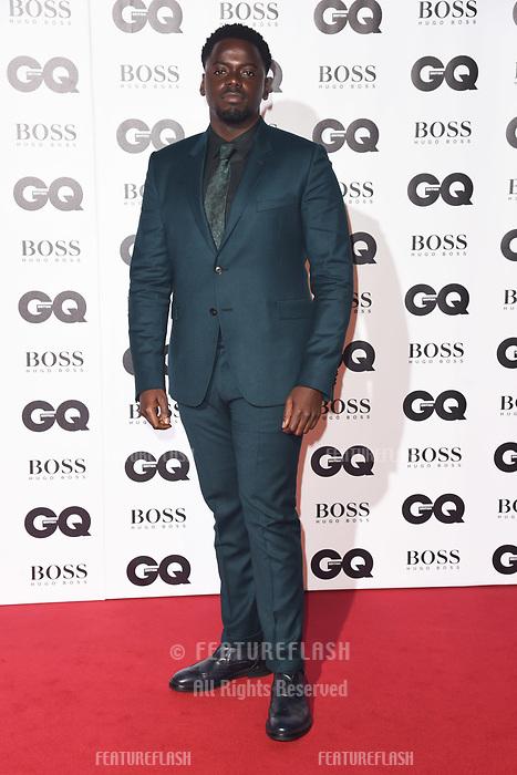 LONDON, UK. September 05, 2018: Daniel Kaluuya at the GQ Men of the Year Awards 2018 at the Tate Modern, London