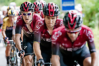 Geraint Thomas (GBR/Ineos) is 3rd in line in the Ineos train<br /> <br /> Stage 2: Vienne to Col de Porte (135km)<br /> 72st Critérium du Dauphiné 2020 (2.UWT)<br /> <br /> ©kramon