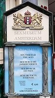 Netherlands, North Holland, Amsterdam: Amsterdam's Sex Museum sign | Niederlande, Nordholland, Amsterdam: Schild am Eingang des Amsterdamer Sex Museums