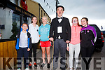 Enjoying the fun at the Chaplin Festival in Waterville on Saturday were l-r; Rian Holden-Carney, Aalayia O'Sullivan, Leah O'Dwyer, Stephen Ruane, Sarah Miller & Julia Cooper.