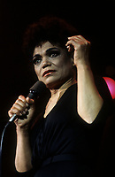 FILE PHOTO :  Eartha Kitt<br /> , circa 1985<br /> <br /> PHOTO : Harold Beaulieu - Agence Quebec Presse