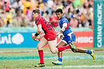 Samoa vs Wales during the HSBC Hong Kong Sevens 2018 Shield Final match on April 8, 2018 in Hong Kong, Hong Kong. Photo by Chung Yan Man / Power Sport Images