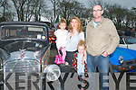 Moyvane Vintage Festival : Attending the Moyvane Vintage Rally on Sunday afternoon last were Sive, Barbara, Siofraiid & John Dillon from Listowel.