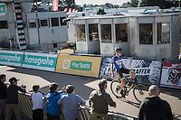 U23 European Champion Quinten Hermans (BEL/U23/Telenet-Fidea) solo's to victory<br /> <br /> CX Superprestige Zonhoven 2016