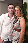 Nicola Pierce and Joseph Carroll at her  birthday party in Barocca...Photo NEWSFILE/Jenny Matthews.(Photo credit should read Jenny Matthews/NEWSFILE)....This Picture has been sent you under the condtions enclosed by:.Newsfile Ltd..The Studio,.Millmount Abbey,.Drogheda,.Co Meath..Ireland..Tel: +353(0)41-9871240.Fax: +353(0)41-9871260.GSM: +353(0)86-2500958.email: pictures@newsfile.ie.www.newsfile.ie.FTP: 193.120.102.198.