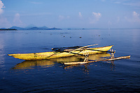 Canoe, Kimbe Bay, New Britain Island, Papua New Guinea
