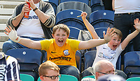 Preston North End fans enjoy the atmosphere at half time<br /> <br /> Photographer Alex Dodd/CameraSport<br /> <br /> The EFL Sky Bet Championship - Preston North End v Burton Albion - Sunday 6th May 2018 - Deepdale Stadium - Preston<br /> <br /> World Copyright &copy; 2018 CameraSport. All rights reserved. 43 Linden Ave. Countesthorpe. Leicester. England. LE8 5PG - Tel: +44 (0) 116 277 4147 - admin@camerasport.com - www.camerasport.com