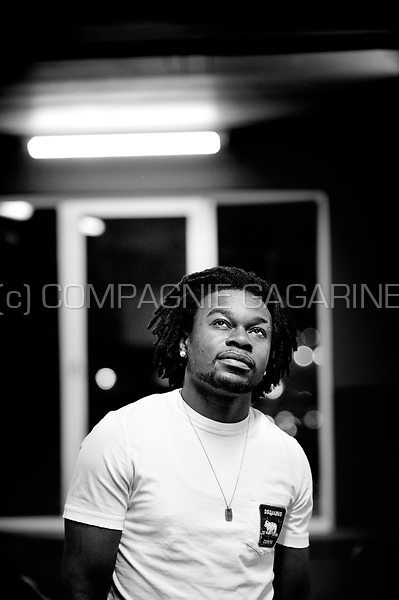 Belgian-Congolese football player Jeanvion Yulu-Matondo (Belgium, 16/12/2012)