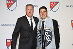 15 January 2015: Connor Hallisey (California) was selected tenth overall by Sporting Kansas City. With head coach Peter Vermes. The 2015 MLS SuperDraft was held at the Pennsylvania Convention Center in Philadelphia, Pennsylvania.