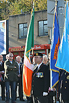 Joe Lynch pictured at the annual memorial cermony at the Cenotaph. Photo: Colin Bell/pressphotos.ie