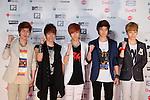 SHINee, June 25, 2011 : MTV VIDEO MUSIC AID JAPAN 2011 ..at Makuhari messe in Chiba, Japan. ..(Photo by Yusuke Nakanishi/AFLO) [1090]