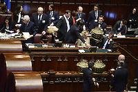 roma, 18 Aprile 2013.Camera dei Deputati.Votazione del Presidente della Repubblica a camere riunite.Le urne della votazione