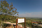 Israel, Lower Galilee. Beth Keshet Oaks observation point