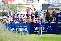 Andrew Johnson (ENG) during the third round of the NBO Open played at Al Mouj Golf, Muscat, Sultanate of Oman. <br /> 17/02/2018.<br /> Picture: Golffile | Phil Inglis<br /> <br /> <br /> All photo usage must carry mandatory copyright credit (&copy; Golffile | Phil Inglis)
