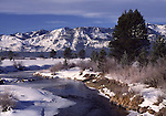 Upper Truckee River, Lake Valley SRA, Sierra Nevada Range, Lake Tahoe