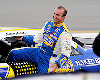May 1, 2009; Richmond, VA, USA; NASCAR Sprint Cup Series driver Marcos Ambrose during qualifying for the Russ Friedman 400 at the Richmond International Raceway. Mandatory Credit: Mark J. Rebilas-