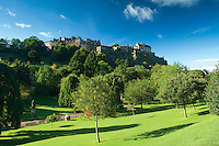 Edinburgh Castle from Princes Street Gardens, Edinburgh