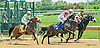 Charlie Again winning at Delaware Park on 7/22/15