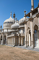 Royal Pavilion. Day trip to Brighton from London with Felix, Gabriela and Annuska.  Brighton, UK