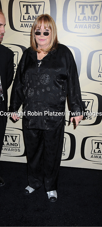 "Penny Marshall of "" Laverne and Shirley"" arrives at The 10th Annual TV Land Awards on April 14, 2012 at the Lexington Avenue Armory  in New York City."