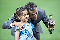 coach Luis Enrique Martinez of FC Barcelona during the match of  Copa del Rey (King's Cup) Final between Deportivo Alaves and FC Barcelona at Vicente Calderon Stadium in Madrid, May 27, 2017. Spain.. (ALTERPHOTOS/Rodrigo Jimenez) /NortePhoto.com