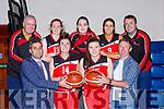 Team Tom McCarthy's St Mary's launching their new season in Castleisland on Friday front row l-r: Seamus O'Connor Garveys Super Valu, Lorranie Scanlon, Roisin Casey, Tom McCarthy. Back row: Mike Culloty, Síofra O'Shea, Aoife Nolan, Deirdre Geaney Liam Culloty