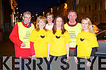 ..TRALEE MARATHON: Runners taking part in the Tralee Marathon on March 16th in aid of the Kerry Hospice Foundation at the Grand hotel, Tralee on Tuesday l-r: Ted Moynihan (County chairman Kerry Hospice Foundation), Erina Kelliher (runner), Maura Sullivan (treasurer Kerry Hospice Foundation and runner), Mary Smullen (runner), Dan Galvin (Tralee chairman Kerry Hospice Foundation) and Carmel Ross (runner).