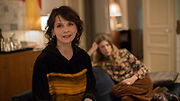 Double Lives (2018)<br /> (Doubles vies)<br /> Juliette Binoche <br /> *Filmstill - Editorial Use Only*<br /> CAP/MFS<br /> Image supplied by Capital Pictures