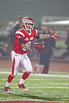 Redondo Beach, CA 10/14/11 - Hunter Bradshaw (Redondo Union #6) in action during the Peninsula vs Redondo Union varsity football game.