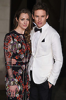 Hannah Bagshawe and Eddie Redmayne<br /> at the 2017 BAFTA Film Awards After-Party held at the Grosvenor House Hotel, London.<br /> <br /> <br /> &copy;Ash Knotek  D3226  12/02/2017