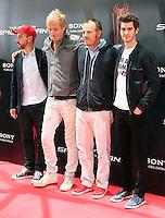 Matt Tolmach, Rhys Ifans, Marc Webb, Andrew Garfield - The Amazing Spider-Man - photocall in Madrid NORTEPHOTO.COM<br /> **SOLO*VENTA*EN*MEXICO**<br /> **CREDITO*OBLIGATORIO** <br /> *No*Venta*A*Terceros*