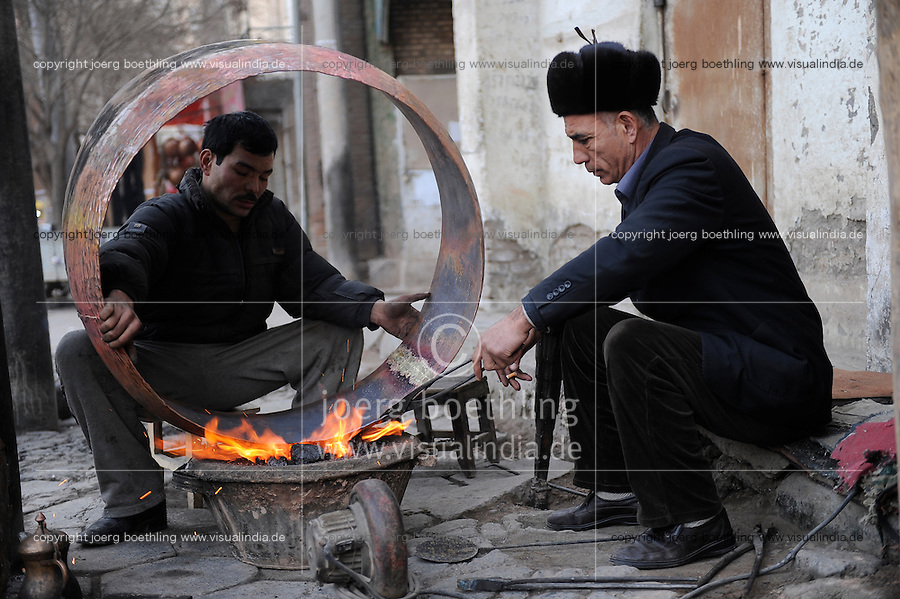 CHINA province Xinjiang, city Kashgar where uyghur people are living / CHINA Provinz Xinjiang, Stadt Kashgar, hier lebt das Turkvolk der Uiguren das sich zum Islam bekennt