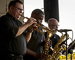 Copper Creek Lake Park was the place to be in Plesant Hill for Jazz in July July 28. The Max Wellman 7 band was hosted by Metro Arts Alliance to an over-flow crowd.