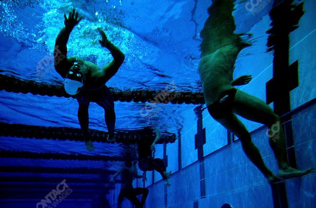 Swimming, Summer Olympics, Sydney, Australia, September 2000