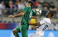 Chester, PA - Monday May 28, 2018: Danny Bejarano, Julian Green during an international friendly match between the men's national teams of the United States (USA) and Bolivia (BOL) at Talen Energy Stadium.