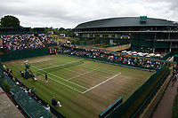 A general view of Court 18, on Day 9 at the All England Lawn Tennis and Croquet Club<br /> <br /> Photographer Ashley Western/CameraSport<br /> <br /> Wimbledon Lawn Tennis Championships - Day 9 - Wednesday 12th July 2017 -  All England Lawn Tennis and Croquet Club - Wimbledon - London - England<br /> <br /> World Copyright &not;&copy; 2017 CameraSport. All rights reserved. 43 Linden Ave. Countesthorpe. Leicester. England. LE8 5PG - Tel: +44 (0) 116 277 4147 - admin@camerasport.com - www.camerasport.com