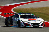 IMSA WeatherTech SportsCar Championship<br /> Advance Auto Parts SportsCar Showdown<br /> Circuit of The Americas, Austin, TX USA<br /> Saturday 6 May 2017<br /> 93, Acura, Acura NSX, GTD, Andy Lally, Katherine Legge<br /> World Copyright: Jake Galstad<br /> LAT Images<br /> ref: Digital Image galstad-COTA-0417-49647