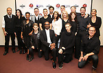"Danny Burstein, Mary Louise Parker, Samira Wiley, Andrew Keenan-Bolger, Michael Emerson, Adam Rippon, Billy Porter, Andy Paris, Purva Bedi, Asia Kate Dillon and cast attends the cast photo call for ""Laramie: A Legacy""  on September 24, 2018 at The Gerald W. Lynch Theater at John Jay College in New York City."