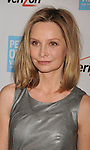 BEVERLY HILLS, CA - OCTOBER 28: Calista Flockhart arrives at Peace Over Violence 40th Annual Humanitarian Awards dinner at Beverly Hills Hotel on October 28, 2011 in Beverly Hills, California.
