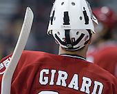 Raphael Girard (Harvard - 30) - The Boston University Terriers defeated the visiting Harvard University Crimson 5-2 on Saturday, January 15, 2011, at Agganis Arena in Boston, Massachusetts.