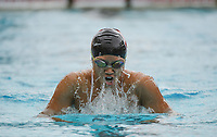 Stanford, Ca - Friday, November 3, 2017: Grace Zhao during a Stanford Women's Swimming victory over North Carolina State at Avery Aquatic Center.